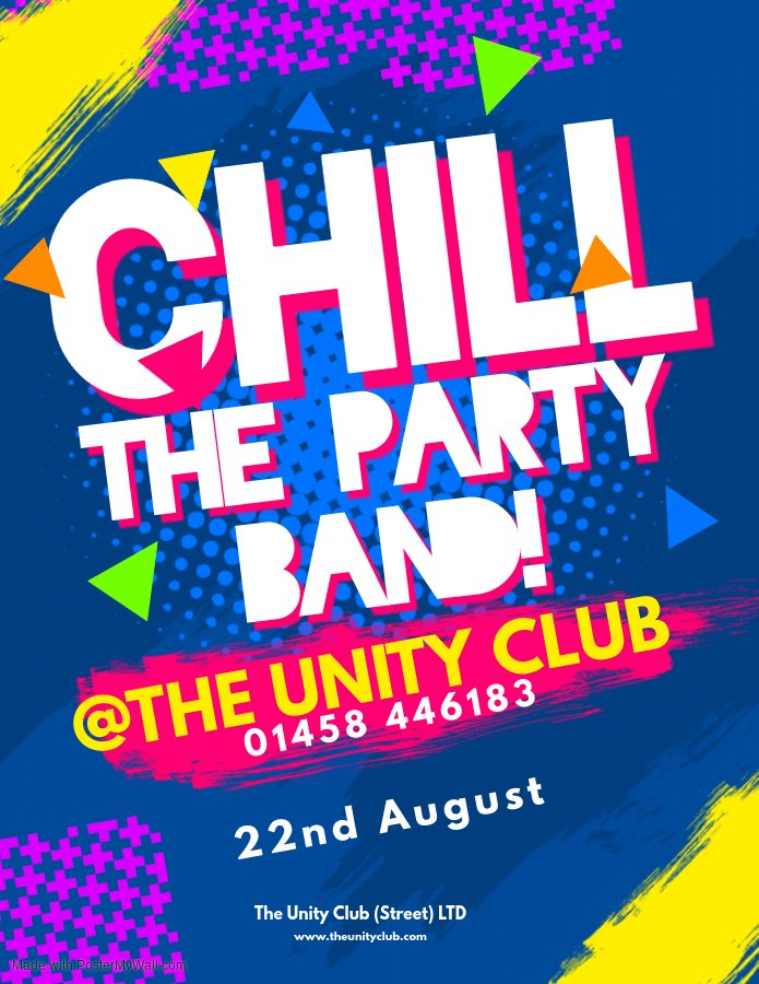 Chill the Party Band - Aug