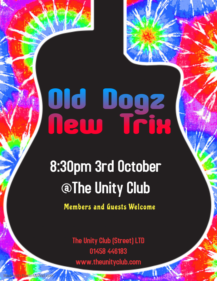 Old Dogz New Trix - Oct